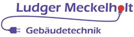 Logo Meckelholt Gebäudetechnik, – Elektro – Sanitär – Heizung –