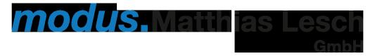 Logo Modus.Matthias Lesch GmbH