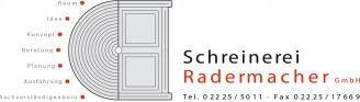 Logo Schreinerei Radermacher GmbH